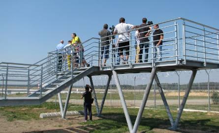 Pyrzowice: Z platform będzie lepiej widać samoloty [WIDEO, ZDJĘCIA]