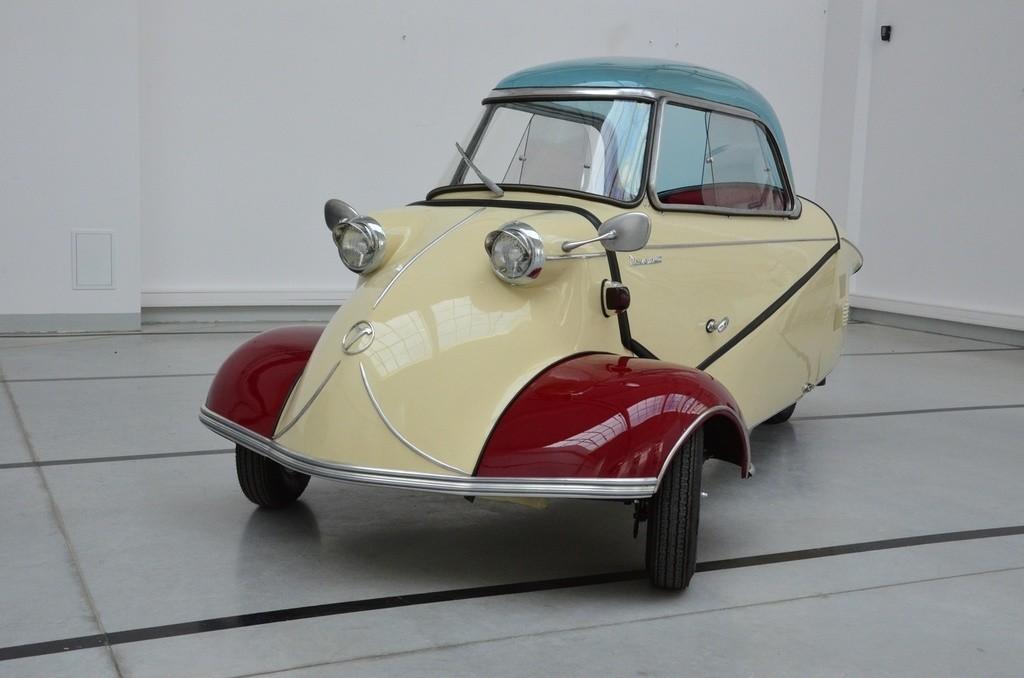 Messerschmitt KR 200. W latach 50. – z fabryki znanej z produkcji najsłynniejszych samolotów myśliwskich hitlerowskich Niemiec – wyjeżdżały malutkie