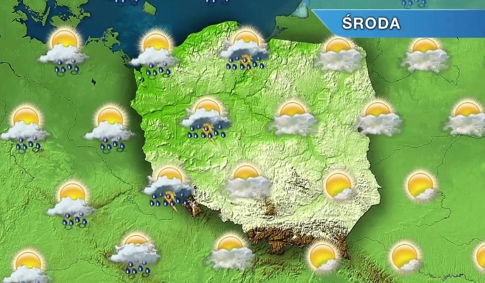 Film do artykułu: Pogoda w Opolu i na Opolszczyźnie. Środa ciepła i burzowa