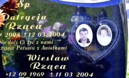 Wiesław Rząca i jego maleńka córeczka Patrycja spoczęli ostatecznie na cmentarzu parafialnym w Turzy. Tak zdecydowała żona Wiesława.