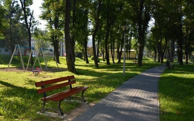 Dobczyce. Całkiem nowe oblicze miejskiego parku 2eb0527953