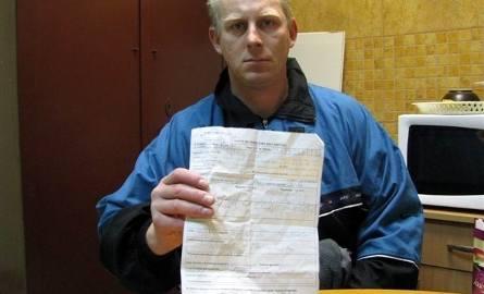 Pobili mnie ostrołęccy policjanci. Policja: Stawiał opór, to dostał (zdjęcia)