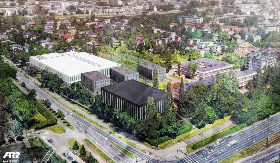 Film do artykułu: Kraków. Radni mają wątpliwości co do budowy basenu olimpijskiego przy ul. Monte Cassino