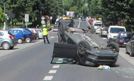 Wypadek wyglądał groźnie