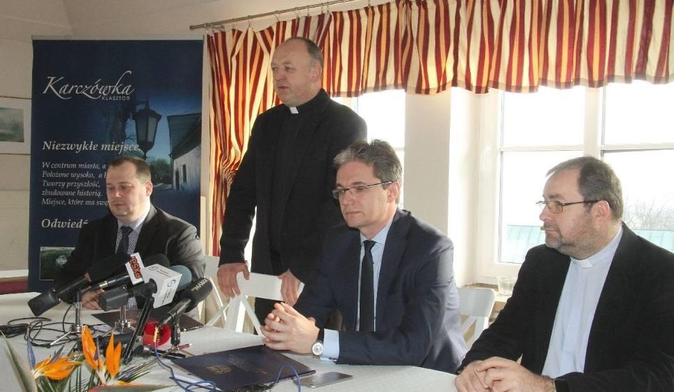 Film do artykułu: Duże pieniądze dla klasztoru na Karczówce na dokończenie remontu