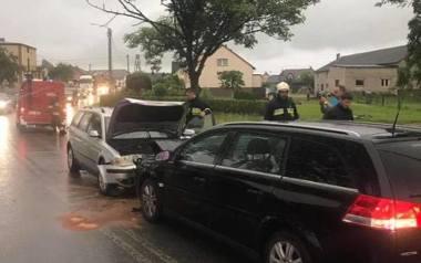 Wypadek w Szklanej (powiat kartuski)