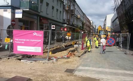 Trwa remont ulicy Modrzejowskiej w Sosnowcu