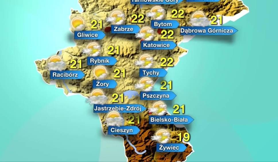 Film do artykułu: Prognoza pogody na 19 kwietnia WIDEO Czwartek w województwie śląskim ciepły i pogodny środa