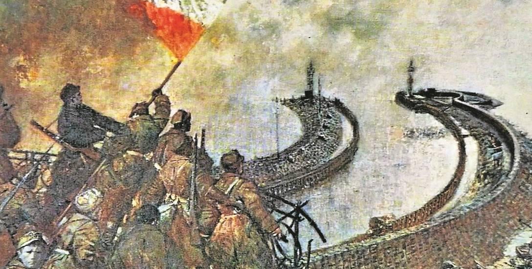Kołobrzeg 1945, obraz Michała Byliny