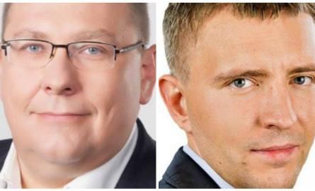 Przemysław Termiński (po lewej) otwiera listę najbardziej majętnych posłów w Kujawsko-Pomorskiem, Łukasz Schreiber ją zamyka.Milionerów i takich, którym