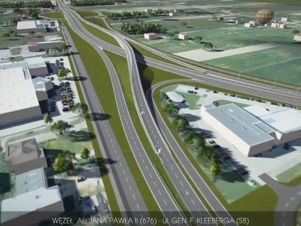 Najdroższą inwestycją w przyszłym roku będzie budowa węzła Porosły, który połączy miejskie ulice z S8