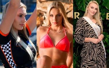 Z toru żużlowego do finału Miss Polonia 2020. Daria Szwaba zachwyca kibiców i jurorów ZDJĘCIA