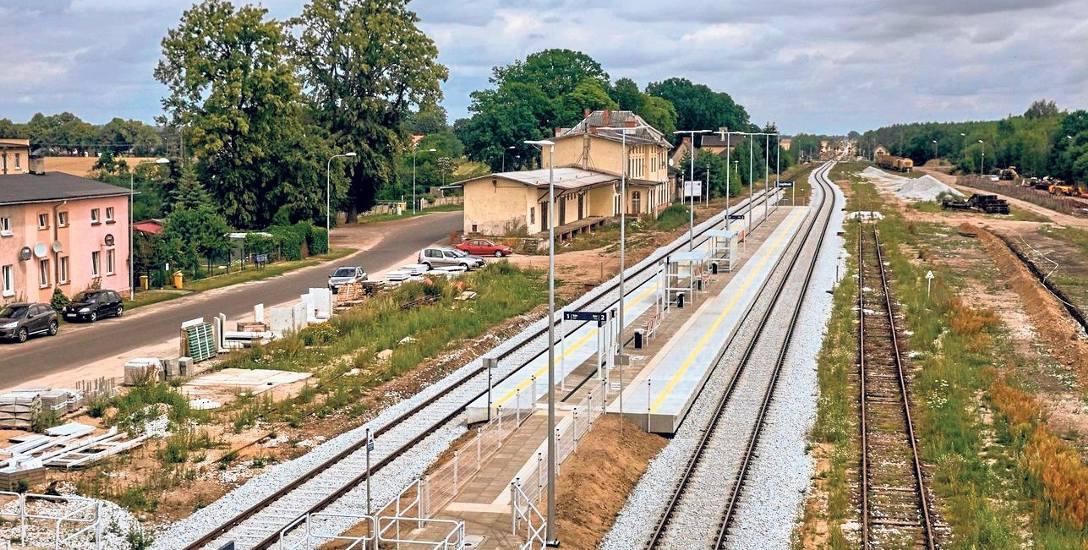 Szlak kolejowy przecinający Pojezierze Drawskie przeszedł modernizację
