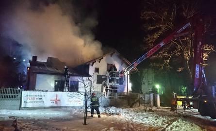 Aż 24 zastępy strażaków gasiły potężny pożar w Rybniku-Chwałowicach [ZDJĘCIA]