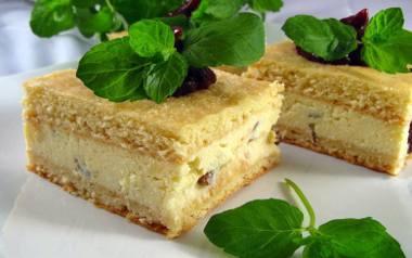 Sernik nieco inaczej: sernik gotowany babci Helenki.