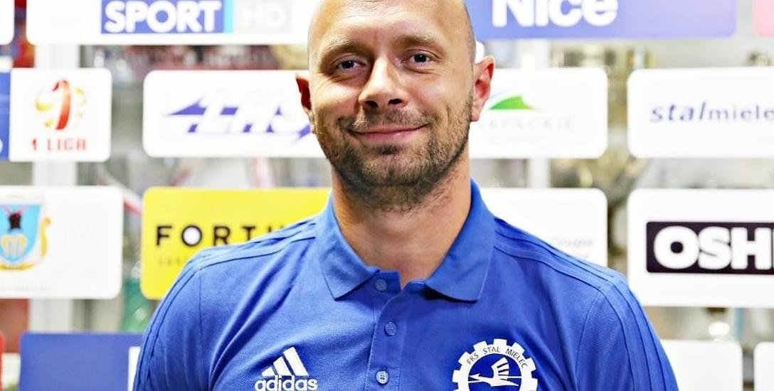 Artur Skowronek, trener Stali Mielec: Najważniejsze są trzy punkty