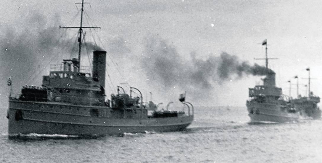 Generał Haller i Komendant Piłsudski na morzu