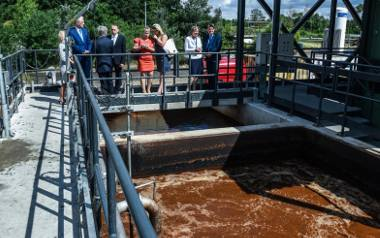 Uruchomiona w czerwcu br. podczyszczalnia ścieków poprodukcyjnych na terenie Nitro-Chemu