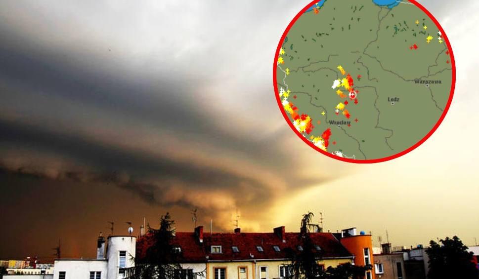 Film do artykułu: Radar burz ONLINE [18.06.2019 - Gdzie jest burza?]. Ostrzeżenia pogodowe IMGW. Radar opadów LIVE