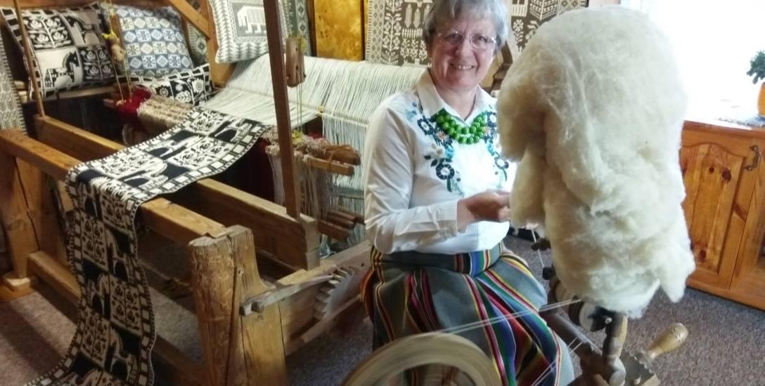 Od 46 lat jest wierna tkaninie. Teraz spełniło się jej marzenie