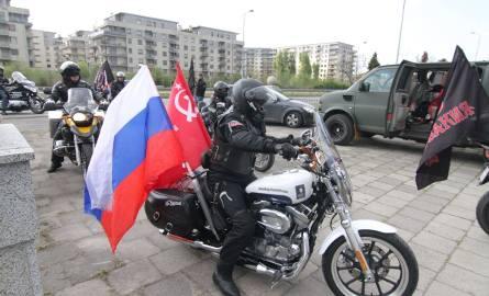 Nocne Wilki jednak we Wrocławiu? Motocykliści złożyli kwiaty na Cmentarzu Żołnierzy Radzieckich