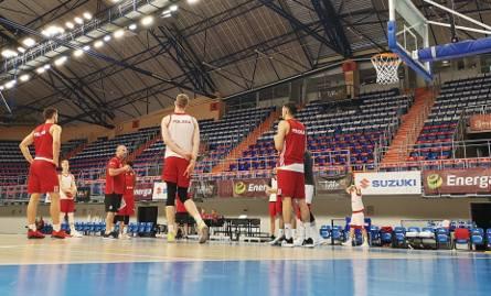 Reprezentacja Polski w koszykówce trenuje już w Lublinie. W środę zagra mecz towarzyski z Holandią