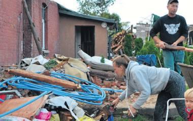 Po nawałnicy stracili wszystko. Będą mieli nowy dom