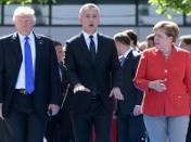 Donald Trump w Brukseli już pogodzony z NATO