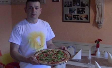 Pizza w pizzerii Buongiorno w Koszalinie.