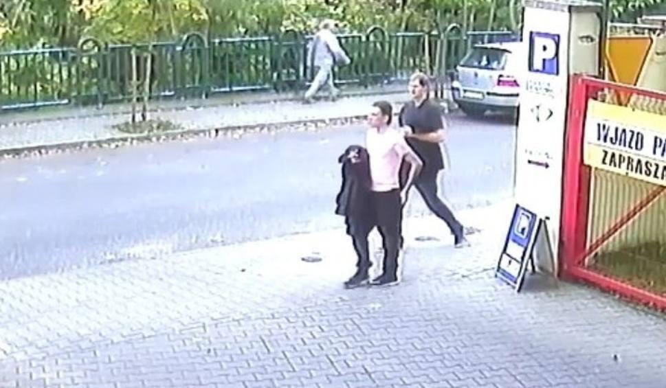Film do artykułu: Napad na pielęgniarkę w Gliwicach WIDEO Policjanci poszukują tych mężczyzn