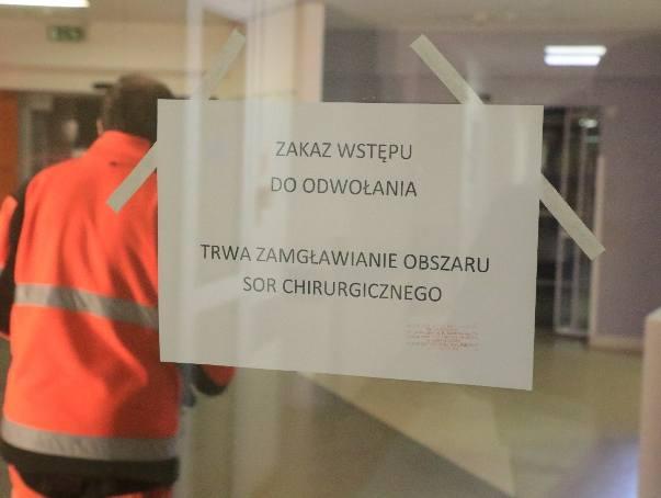 Gangrena we wrocławskim szpitalu przy Kamieńskiego. Zamknięto SOR, trwa dezynfekcja (ZDJĘCIA)