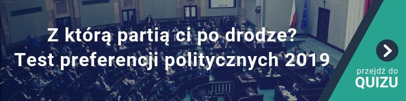 Z którą partią ci po drodze? Test preferencji politycznych. Wybory do Sejmu i Senatu 2019