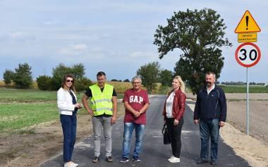 Droga w Kiełpinach otwarta. Kolejne remonty już wkrótce