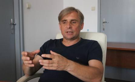Prezes Krzysztof Zając liczy, że w sobotę Korona będzie dysponowała mocniejszym składem w ofensywie