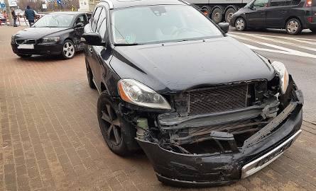 W środę, około godziny 12, na skrzyżowaniu ulic Koszarowej i Dwornej z Kopernika w Grajewie doszło do wypadku.