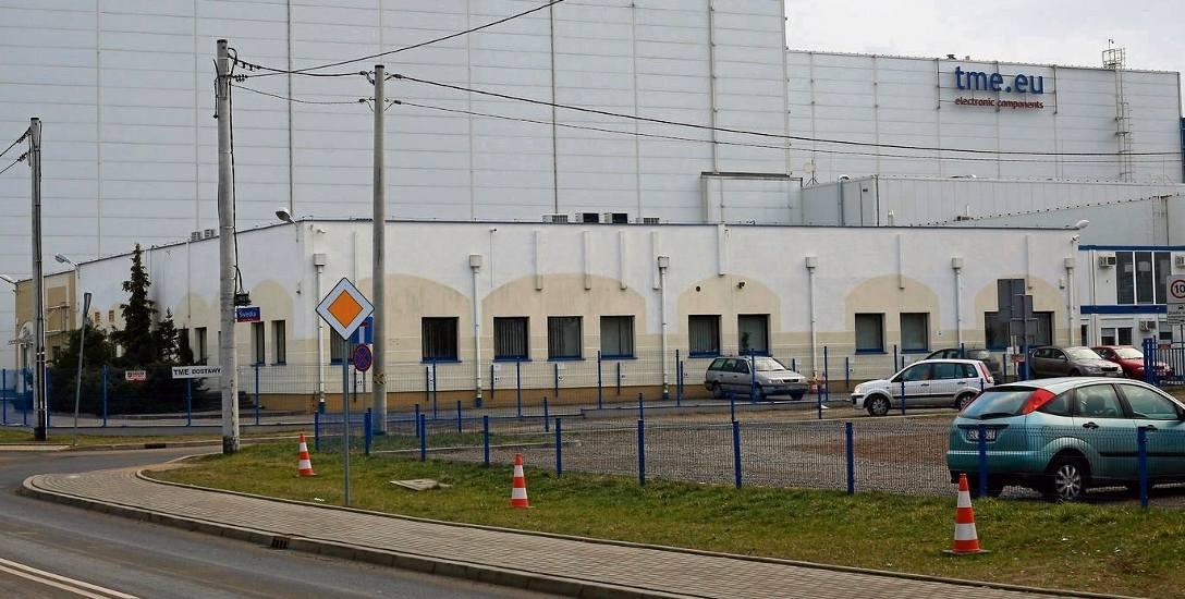 Rzgów. Powstanie   centrum  logistyczne   TME. Obecną siedzibą firmy jest centrum logistyczne przy ul. Ustronnej w Łodzi