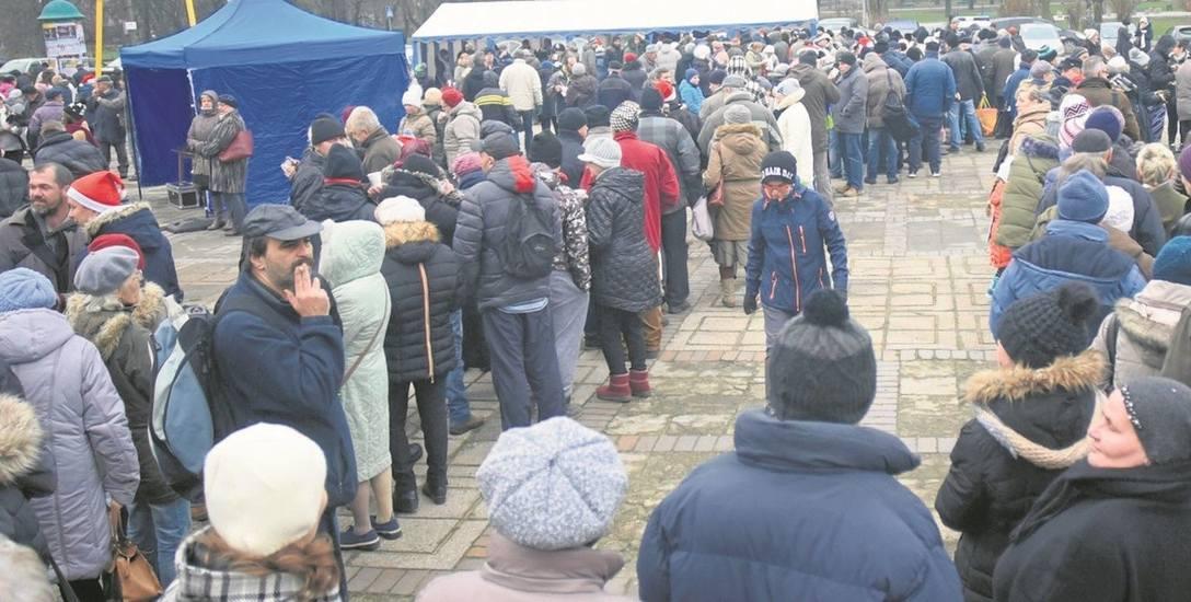 Wigilia na Starym Rynku od Łodzian   dla łodzian