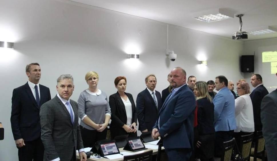 Film do artykułu: Konrad Golec znowu za sterami gminnego parlamentu w Przytocznej [ZDJĘCIA]