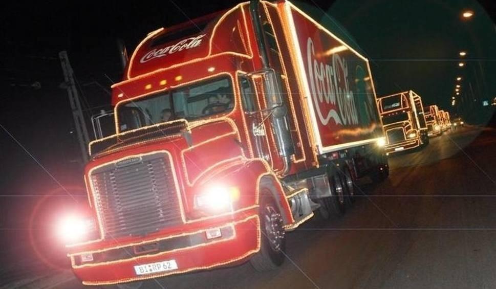 Film do artykułu: Świąteczna ciężarówka Coca-Coli w Radomiu? Trwa głosowanie!