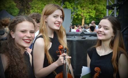 Dziewczyny z orkiestry programu EUROPERA YOUTH