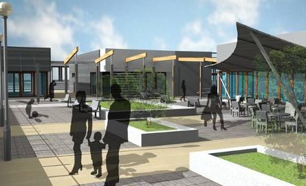 Nowy dworzec w Mielcu (zdjęcia projektu)