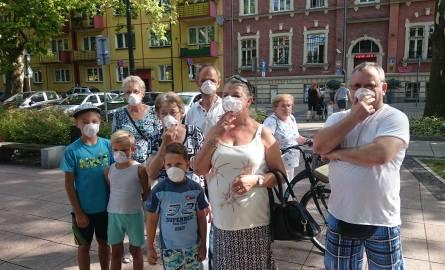 Mieszkańcy Siemianowic Śląskich protestują. Mają dość smrodu i firm recyklingowych ZDJĘCIA