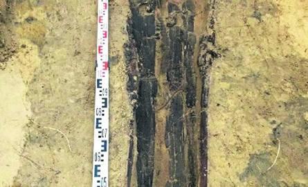 Szczątki udało się odnaleźć, z pomocą antropologa, już pierwszego dnia prac, przy czwartym wykopie