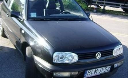 VW Golf Cabrio, 1997 r. 1,6 + gaz, ABS, centralny zamek, elektryczne szyby i lusterka, immobiliser, 2 x airbag, 8 tys. 500 zł.