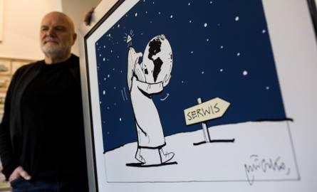 """Obraz Andrzeja Mleczki """"poszedł"""" za astronomiczną kwotęZobacz najciekawsze aukcje WOŚP sztabu przy GK >> http://aukc"""