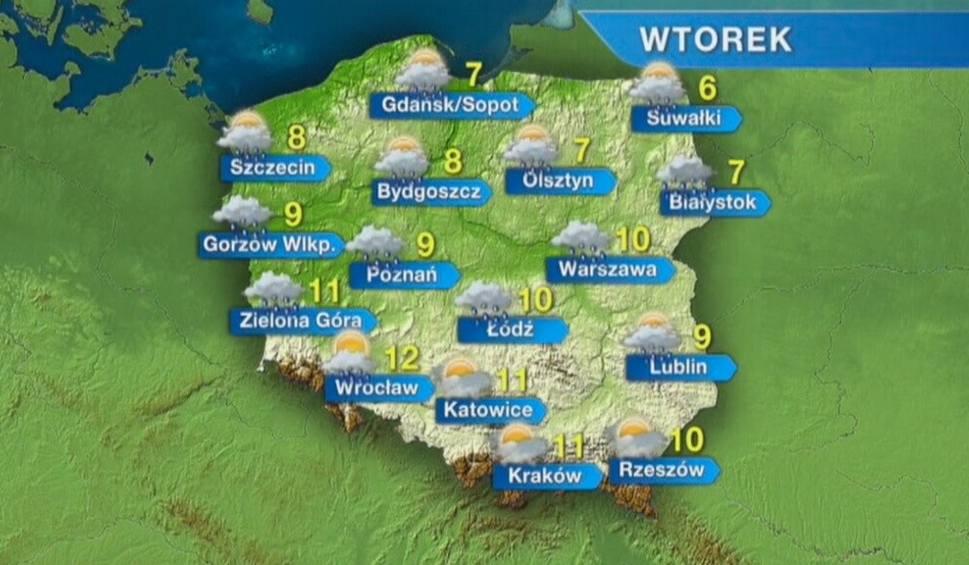 Film do artykułu: Pogoda w Opolu i na Opolszczyźnie. We wtorek wietrznie, ale ciepło