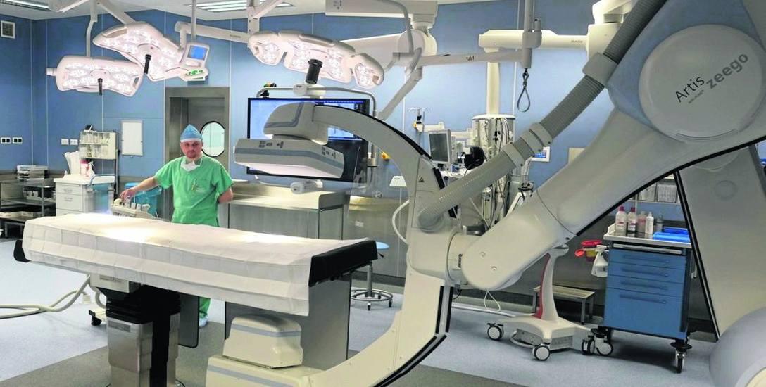 Zrobotyzowany angiograf to wisienka na torcie w nowo oddanym bloku operacyjnym.