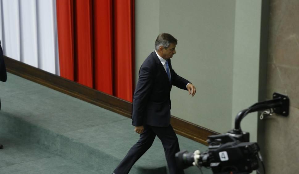 Film do artykułu: Czy Marek Kuchciński, poseł z Przemyśla, przestanie być marszałkiem Sejmu?