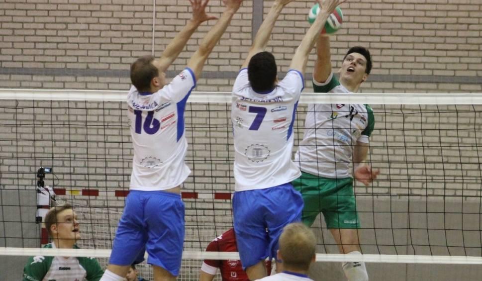 Film do artykułu: I liga siatkarzy. O zwycięstwie w meczu AZS AGH Kraków - Buskowianka Kielce zdecydował tie-break [ZDJĘCIA]