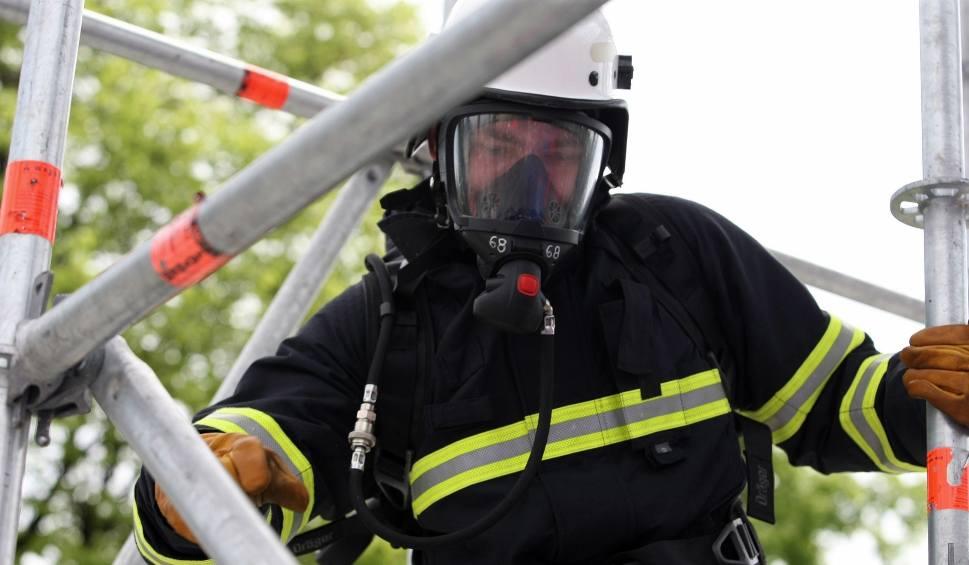 Film do artykułu: Pożar na terenie jednej z firm w Trzeciewcu. Paliła się mączka rybna